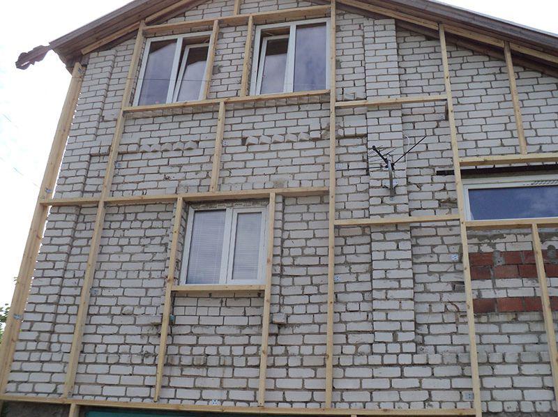 чем утеплить стены дома снаружи из кирпича