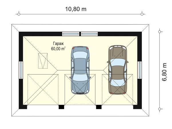 Гараж 8 на 10 проект куплю капитальный гараж в кемерове